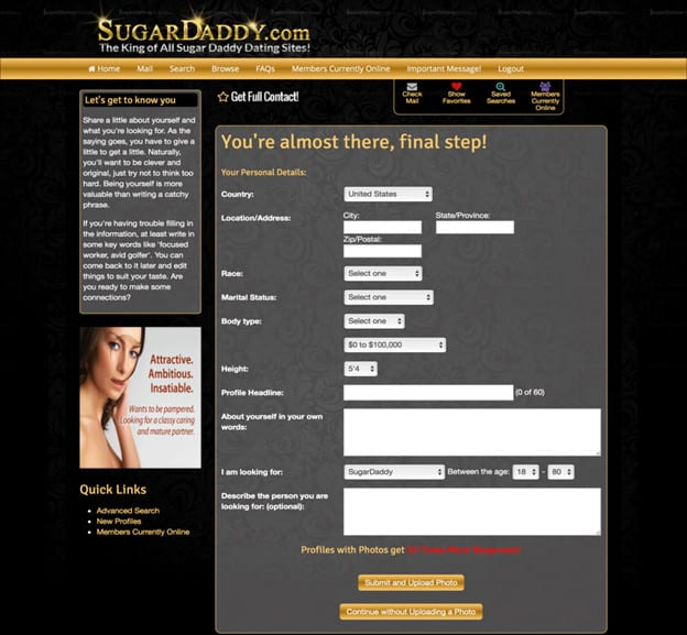 SugarDaddy.com Review [year] - Real Sugar or Real Scam? 7