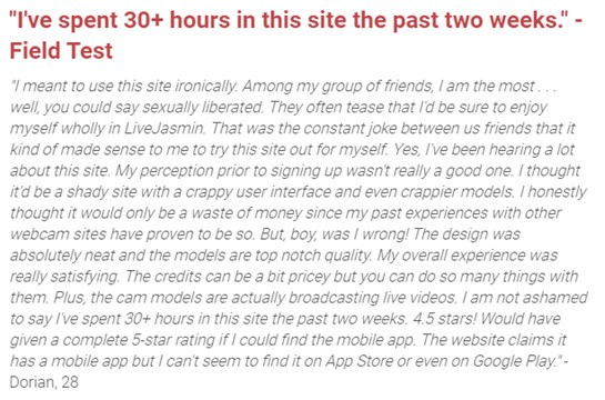 Livejasmin Review [year]- Fantasy or Reality? Worth Trying? 6