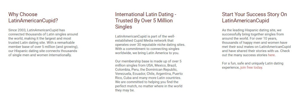 Latin American Cupid Dating Site Review [year] 1