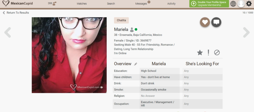 Mexican Cupid Dating Site Review [year] 6