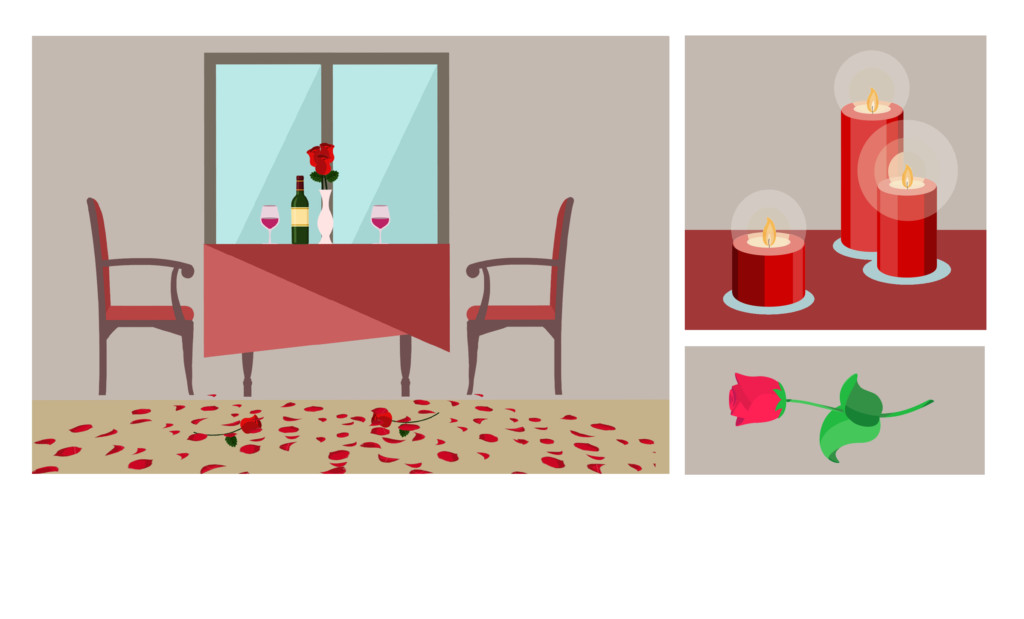 Romantic Evening Ideas - Let's get Romantic this year! 1