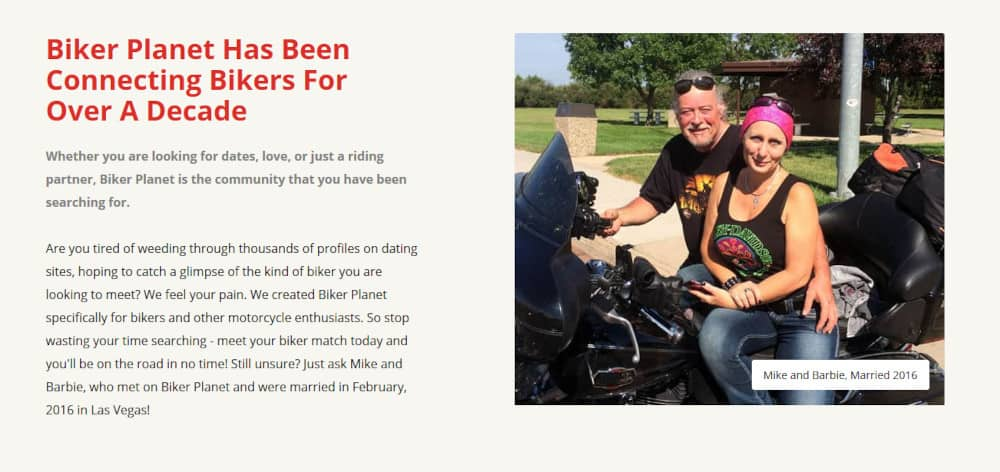 Biker Planet Dating Site Review [year] 3
