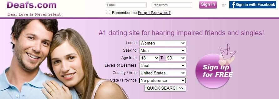 Best Dating Sites for Deaf People [year] - Find Deaf Singles 1