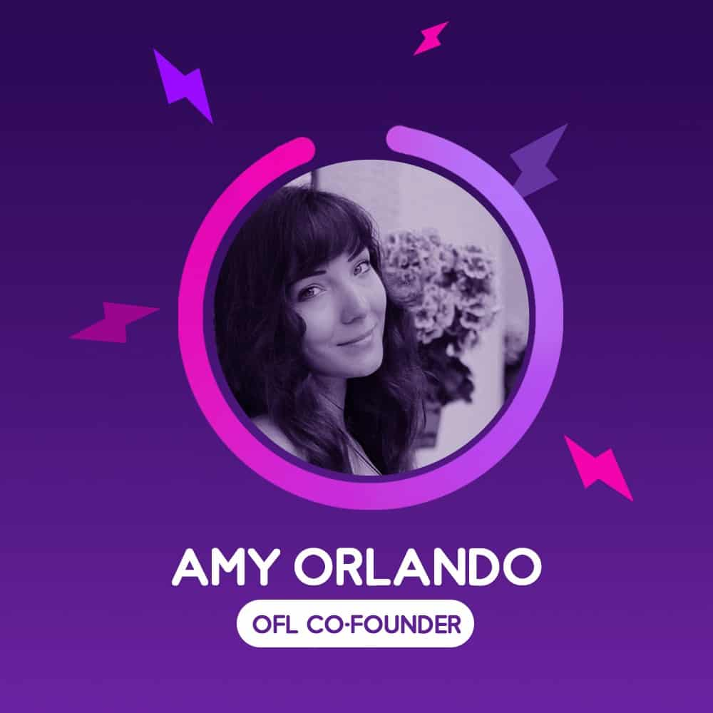 Amy Orlando, Co-founder of OnlineForLove.com