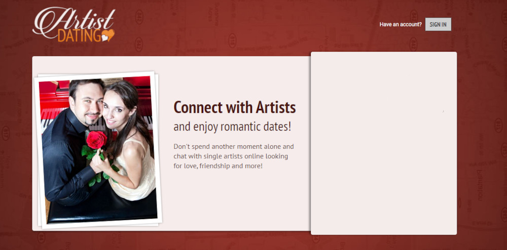 Dating Sites for Artists [year] - Meet Romantic Artists 1