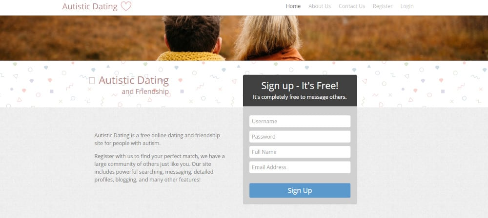 Best Dating Sites for Autism [year] - Find People With Autism 5