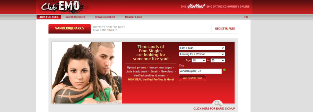 Dating Sites for Emo in [year] - [Find Your Best Alternative] 3