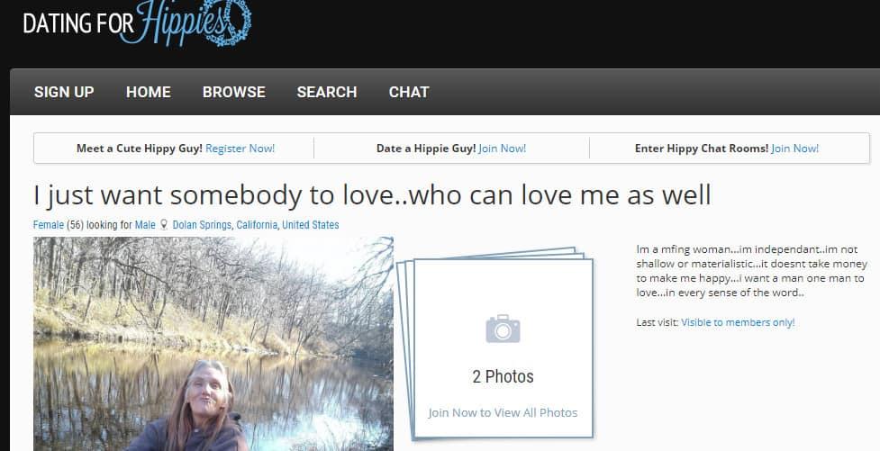 Best Hippie Dating Sites in [year] - Meet Your Flower Child 4