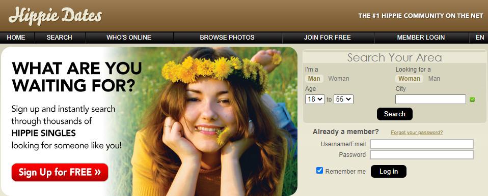 Best Hippie Dating Sites in [year] - Meet Your Flower Child 1