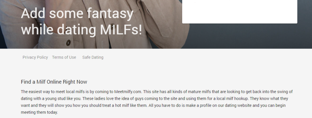 MeetMilfy Review [year]- Real Milfs or Deception? 2