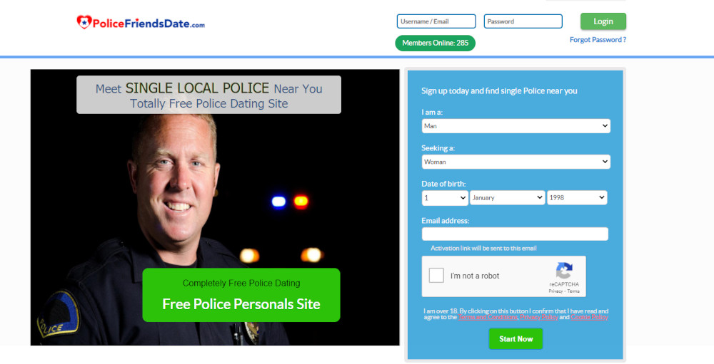 Best Dating Sites for Cops [year] - Find People in Uniform 7