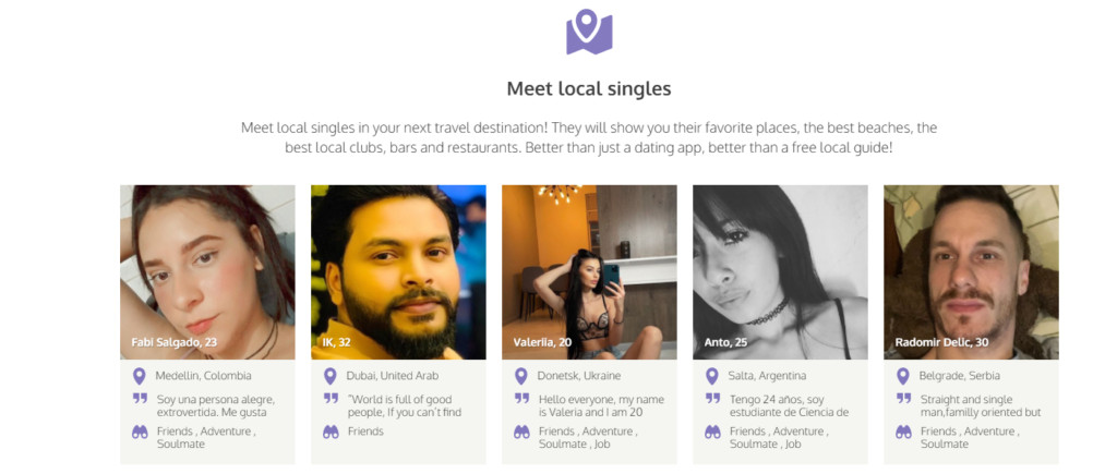 Best Dating Sites for Digital Nomads [year] - Travel and Date 6