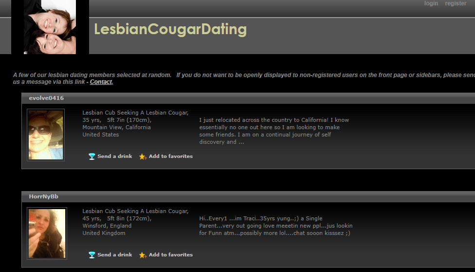 The 4 Best Lesbian Cougar Dating Sites [year] - Full Discloser 2