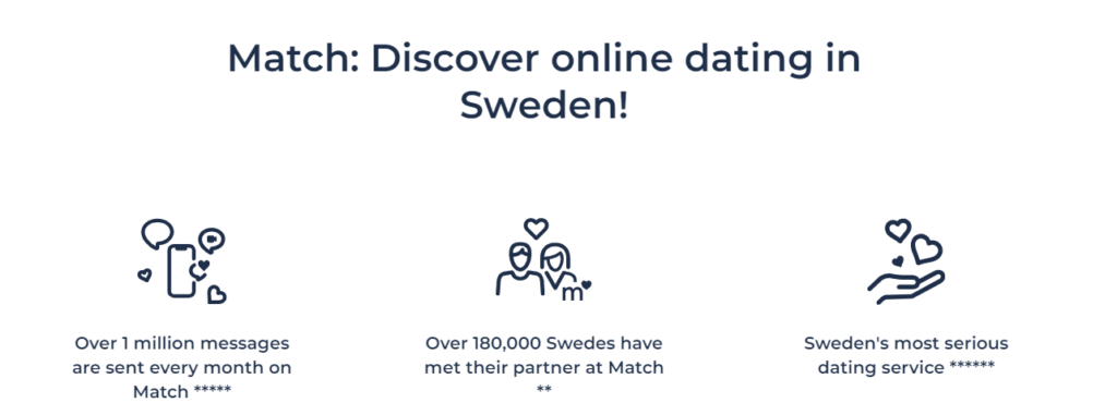 Dating Sites in Sweden [year] - [The Top 4 | Chat, Meet, Date] 9