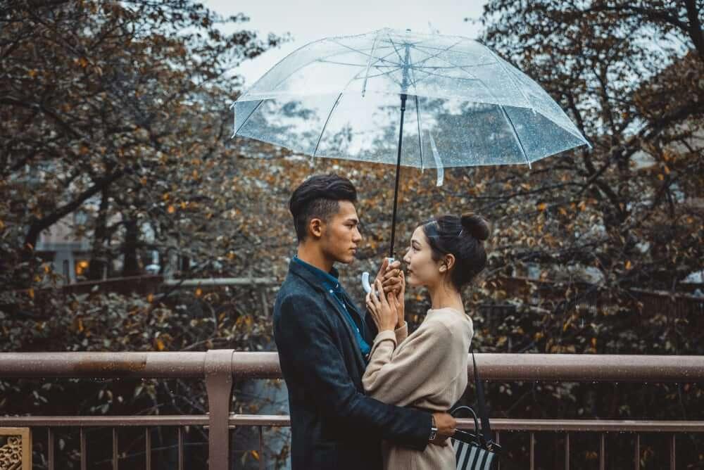 Beautiful korean couple