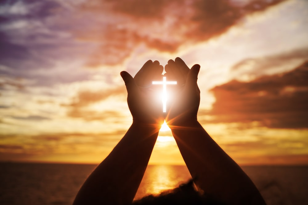 Open palm worship - Catholic Singles