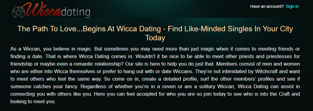 The 4 Best Wiccan Dating Sites [year] - Find Your Pagan Today 5