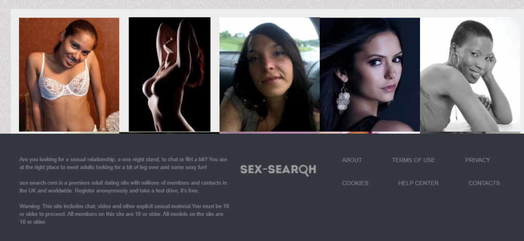 Sex Search Review [year] - Pros & Cons. Worth It? 3