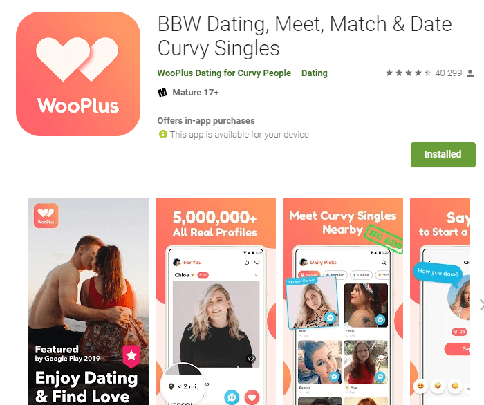 Wooplus Review [year] - Curvy People or Fake Profiles? 5