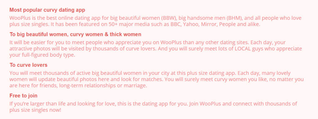 Wooplus Review [year] - Curvy People or Fake Profiles? 6