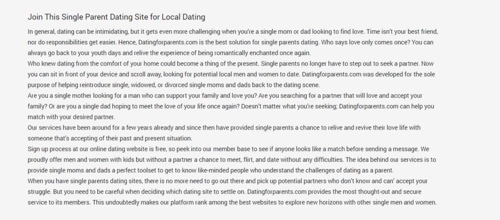 DatingForParents Review [year] - Are You Sure It's 100% Legit 2