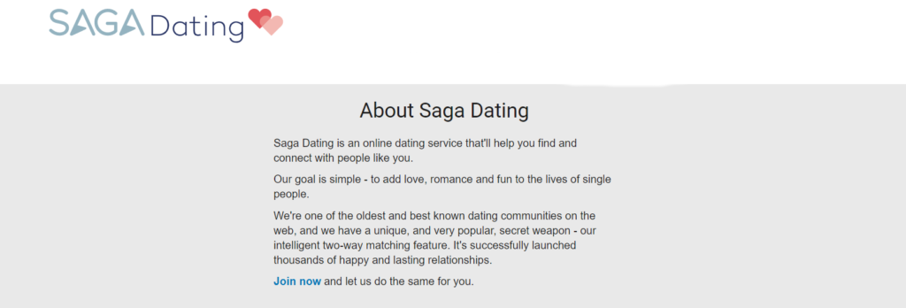 Saga Dating Review [year] - Dating Site Guides 2