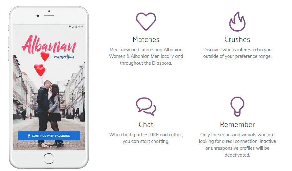 Best Albanian Dating Sites [year] - Find the Right Partner 10