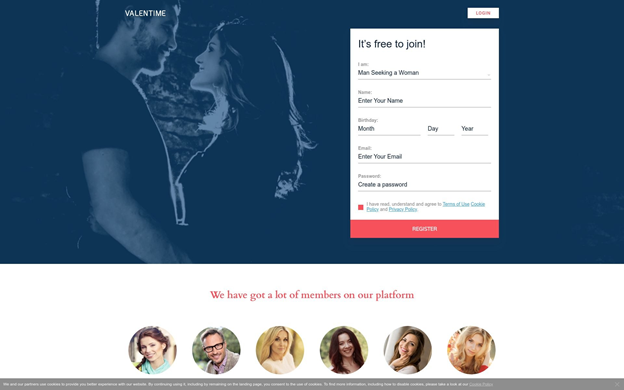 Valentime.com Review [year] - True Love or Fake Profiles? 3