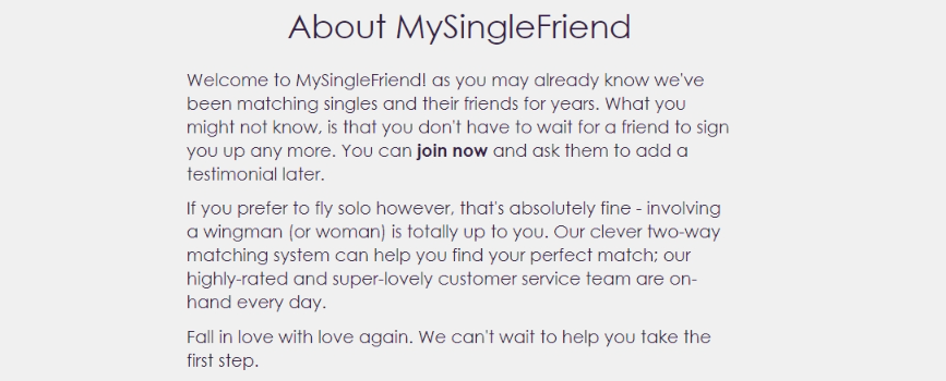 MySingleFriend Review [year] - All There is to Know (+ Ratings) 2