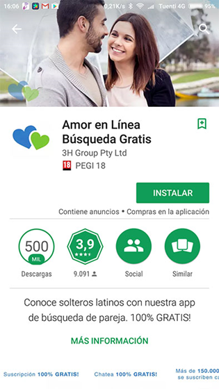 Amor en Linea Review [year] - Just Another Fraud or Real Dates 3
