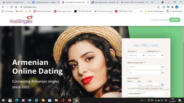 Hye Singles Review [year] - Best Site to Meet Armenian Singles 1