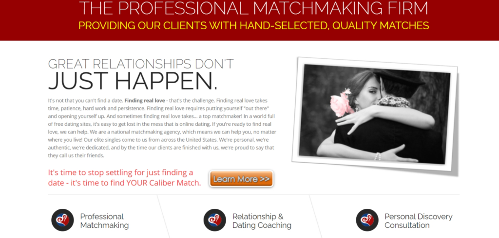Caliber Match Matchmaking Service Review [year] - Is It Good? 2