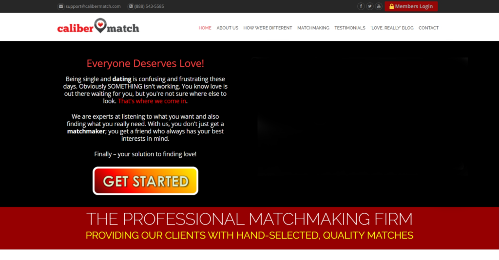 Caliber Match Matchmaking Service Review [year] - Is It Good? 1